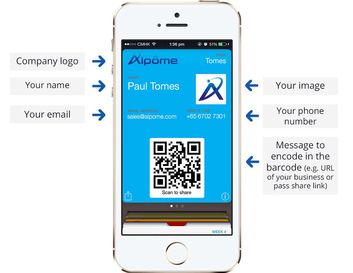 Alpome Pass | Business Cards